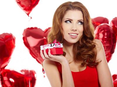 Топ-5 подарков для неё ко Дню святого Валентина